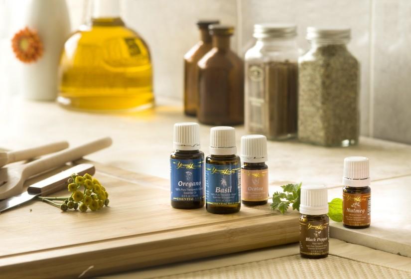 aceites esenciales cocina