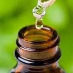 aceite esencial gota frasco