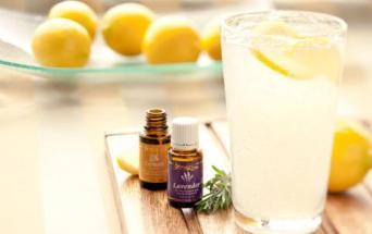 aceites esenciales lavanda limon agua fresca