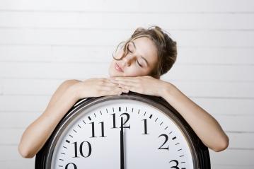 dormir reloj tiempo