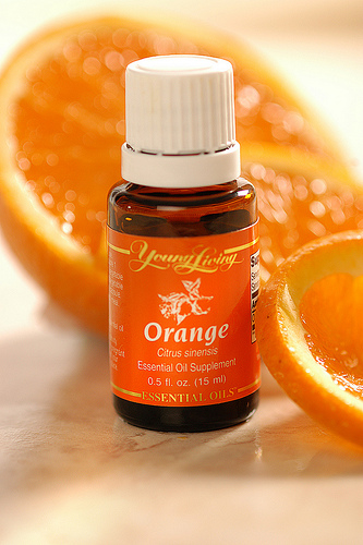 orange essential oil naranja aceite esencial