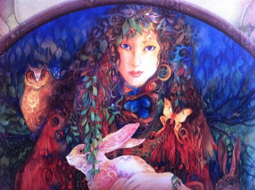 angel ariel madre tierra naturaleza animalitos