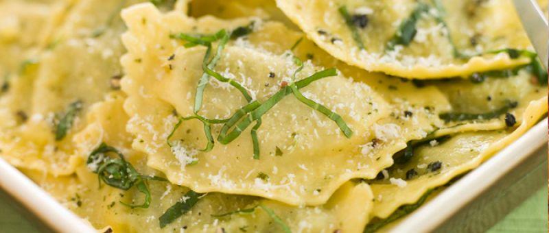 ravioles pasta