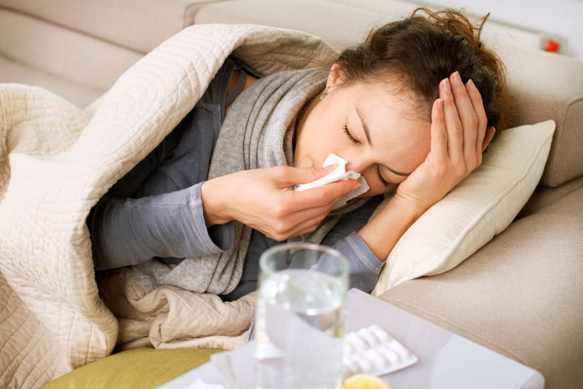 influenza gripe enfermedad enferma