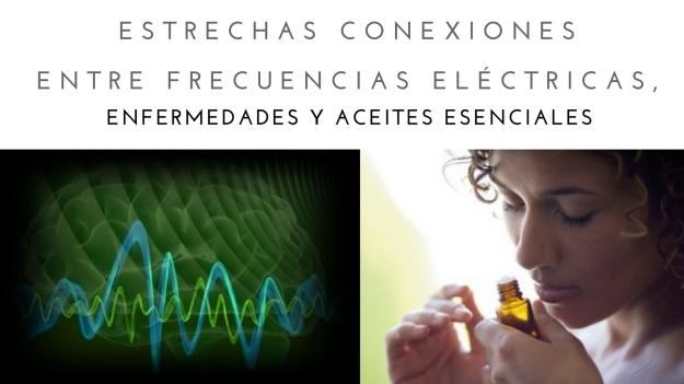 Frecuencia electromagnética de los aceites esenciales