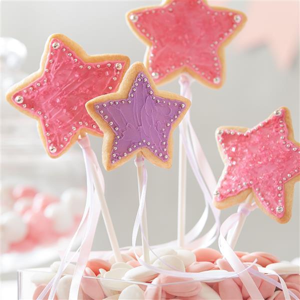 galletas estrellas varitas magicas