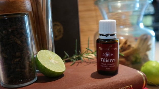 Aceite esencial Essential oil Thieves Ladrones