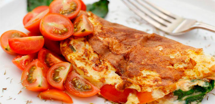 omelette jitomate