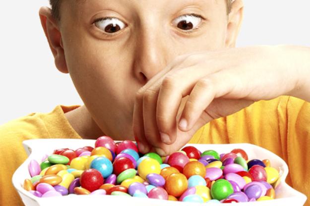 dulces colores niño