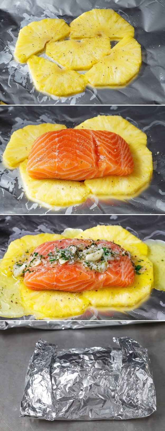 baked-salmon-in-foil-with-pineapple