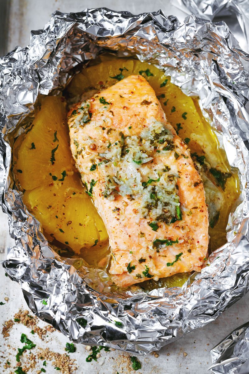 Honey-Garlic-Lemon-Butter-Salmon